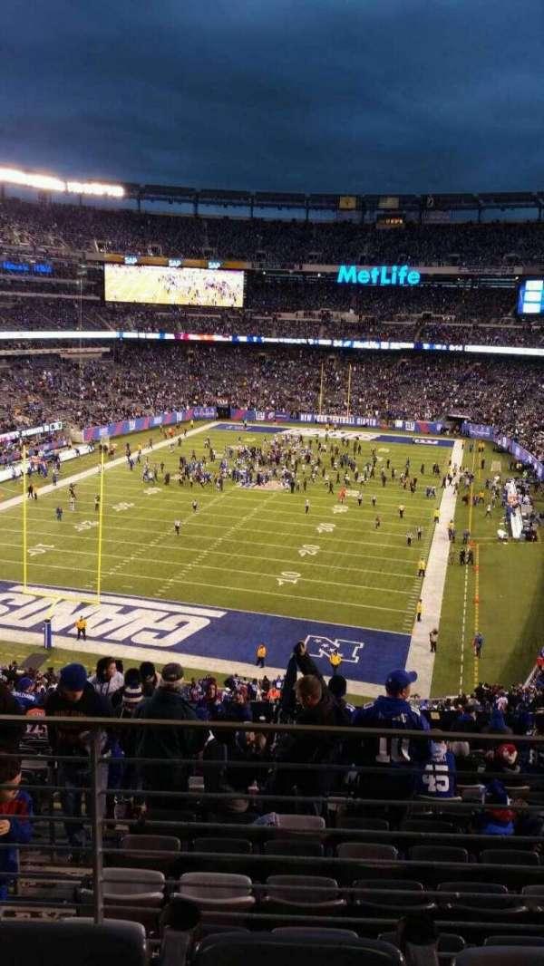 MetLife Stadium, secção: 248, fila: 15, lugar: 13