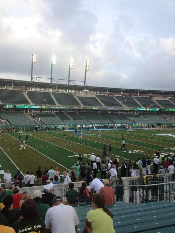 Yulman Stadium, secção: 118, fila: T, lugar: 12