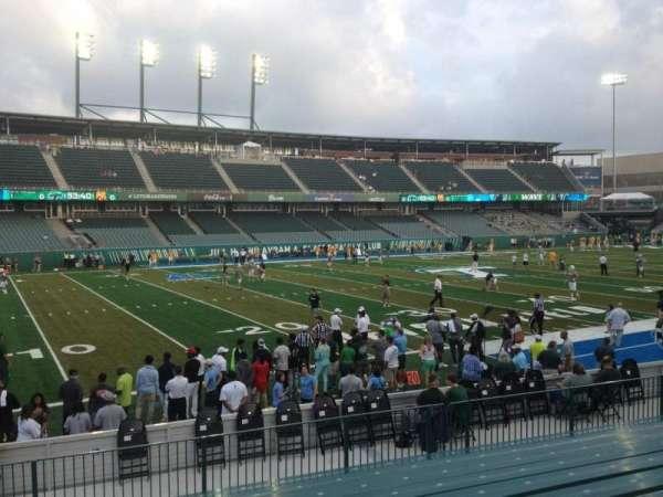 Yulman Stadium, secção: 119, fila: P, lugar: 28