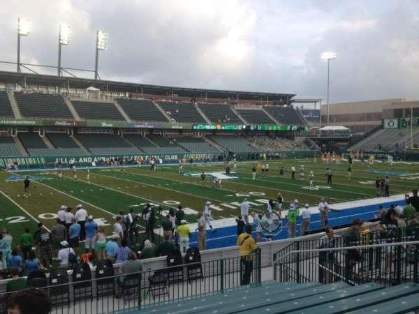 Yulman Stadium, secção: 119, fila: P, lugar: 14