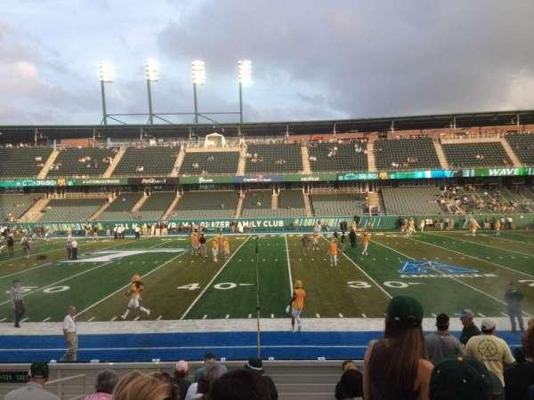 Yulman Stadium, secção: 122, fila: N, lugar: 26