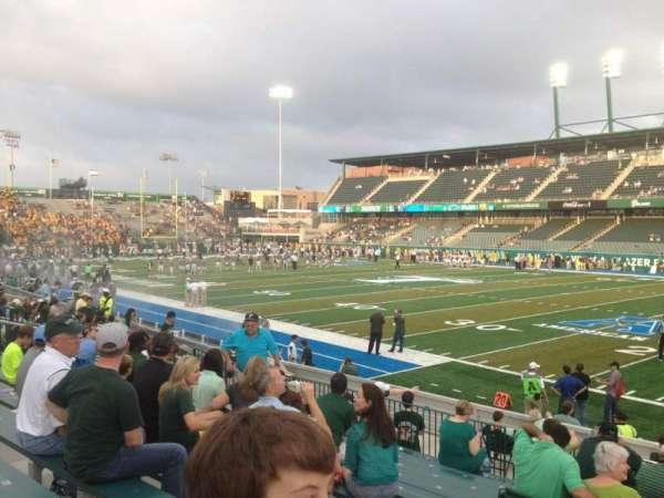 Yulman Stadium, secção: 123, fila: P, lugar: 12