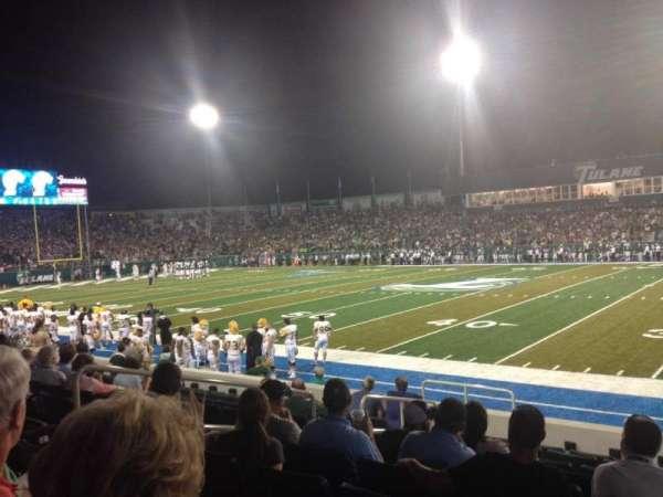 Yulman Stadium, secção: 108, fila: J, lugar: 12