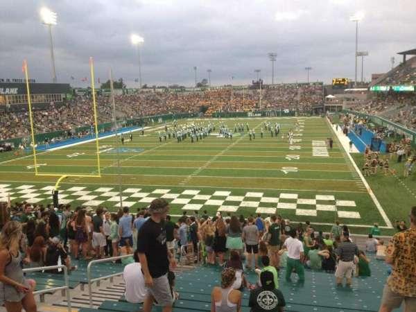 Yulman Stadium, secção: 130, fila: FF, lugar: 14