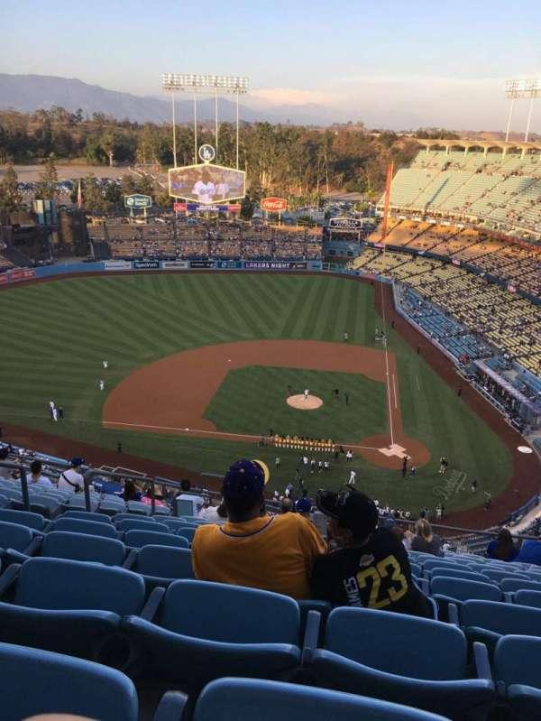 Dodger Stadium, secção: 9TD, fila: N, lugar: 21