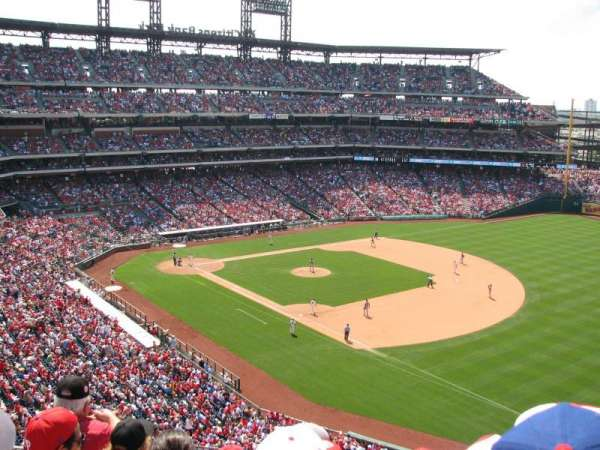 Citizens Bank Park, secção: 310, fila: 5, lugar: 5