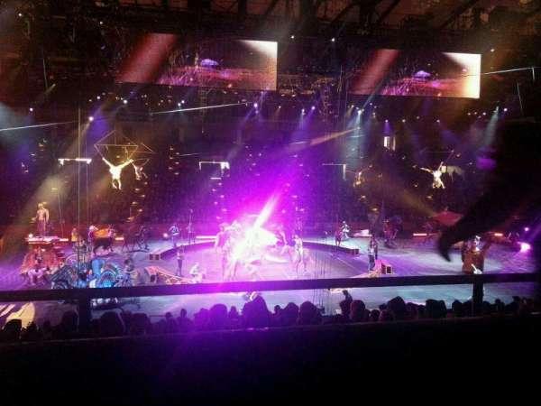 Royal Farms Arena, secção: 209, fila: A, lugar: 15