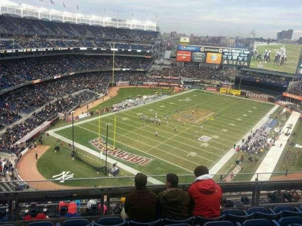 Yankee Stadium, secção: 417, fila: 5, lugar: 8