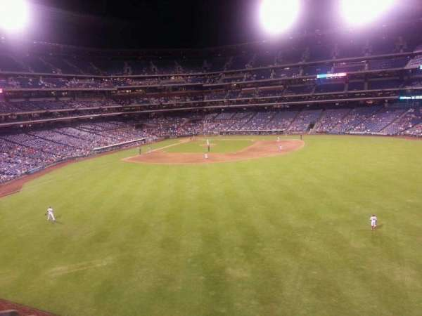 Citizens Bank Park, secção: 201, fila: 1, lugar: 1