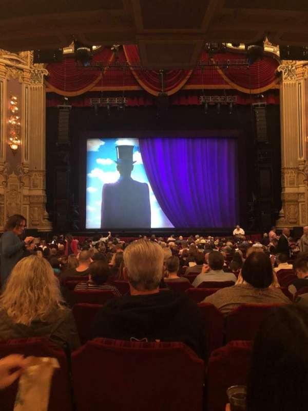 James M. Nederlander Theatre, secção: Orchestra C, fila: X, lugar: 108