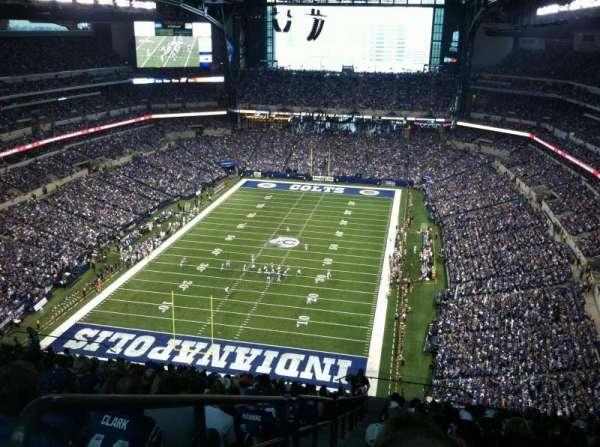 Lucas Oil Stadium, secção: 624, fila: 23, lugar: 23