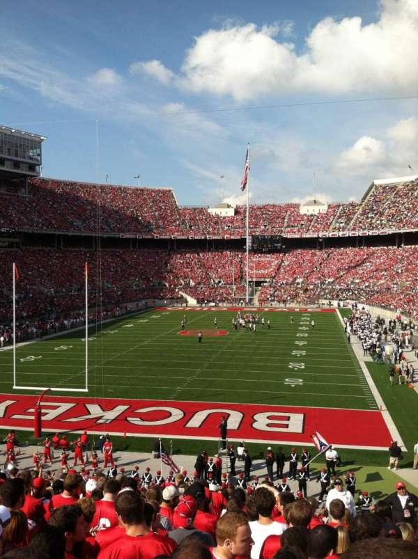 Ohio Stadium, secção: 38A, fila: 20, lugar: 2