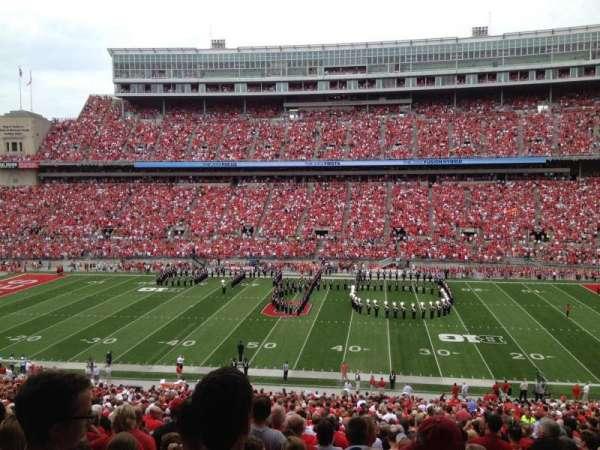 Ohio Stadium, secção: 18B-BX, fila: 2, lugar: 21