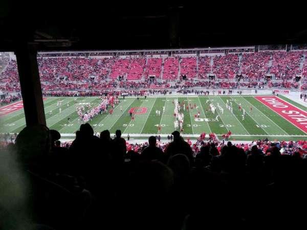 Ohio Stadium, secção: 18B, fila: 11, lugar: 15