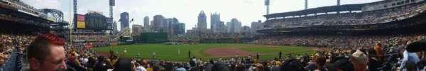 PNC Park, secção: 125, fila: h, lugar: 12