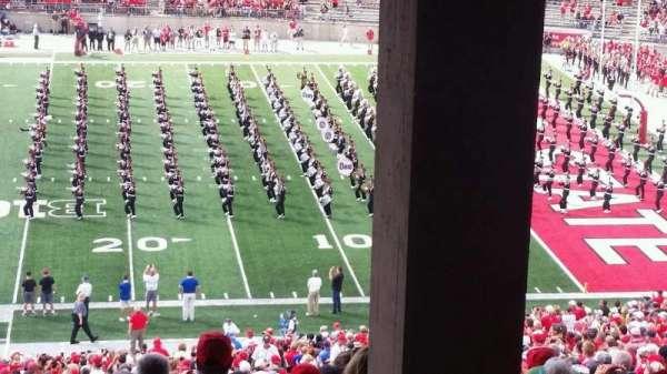 Ohio Stadium, secção: 16B, fila: 7, lugar: 27