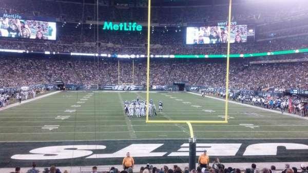 Metlife Stadium, secção: 101, fila: 17, lugar: 24