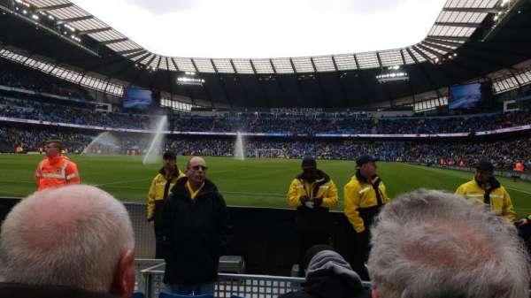 Etihad Stadium (Manchester), secção: 113, fila: C, lugar: 337