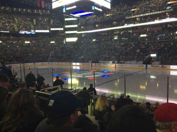 Nationwide Arena, secção: 113, fila: L, lugar: 6