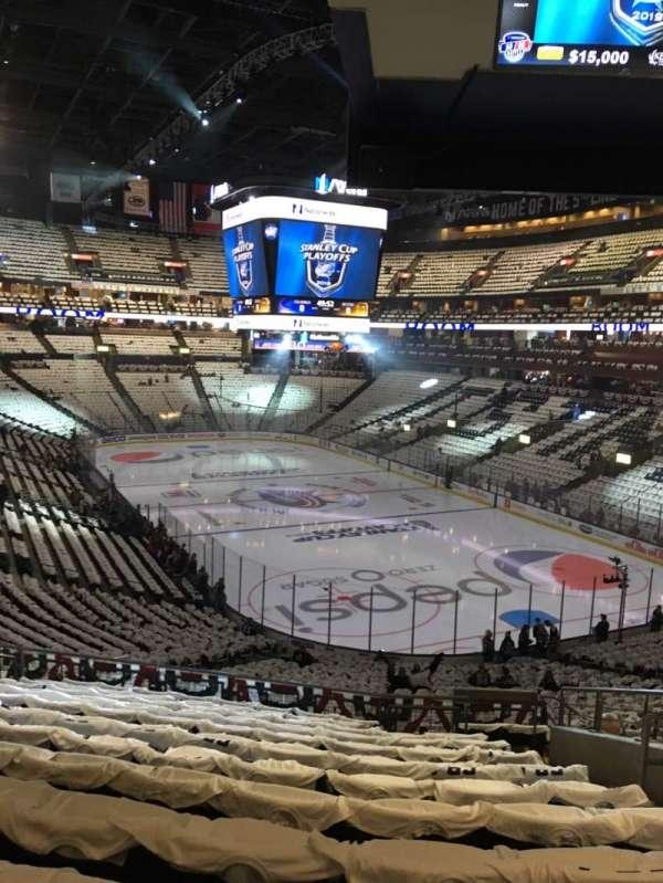 Nationwide Arena, secção: 122, fila: MM, lugar: 7