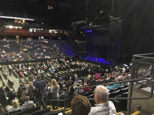 Nationwide Arena, secção: 105, fila: Y, lugar: 3