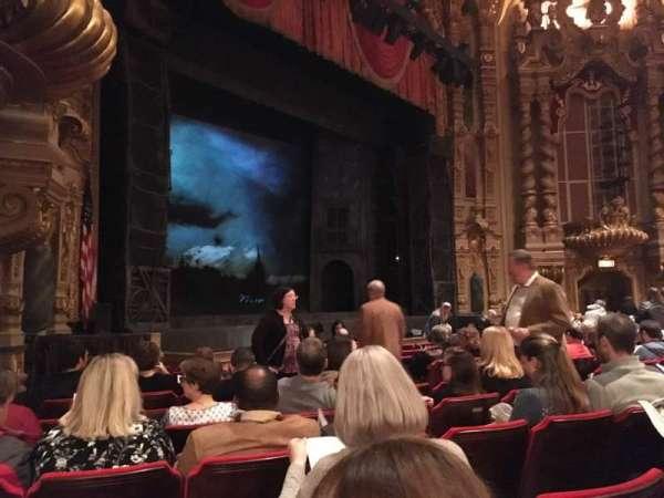 Ohio Theatre (Columbus), secção: Orchestra 4, fila: L, lugar: 19