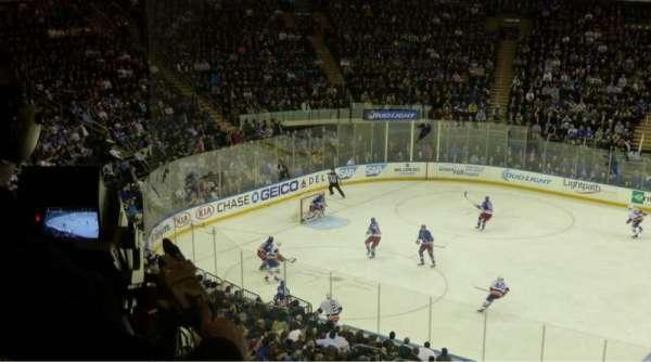 Madison Square Garden, secção: 224, fila: 3, lugar: 7