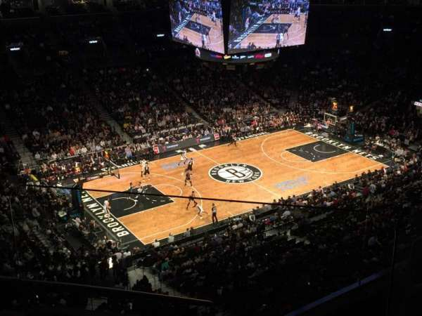 Barclays Center, secção: 227, fila: 5, lugar: 4