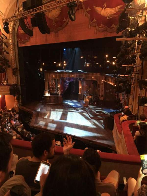 Bernard B. Jacobs Theatre, secção: Mezzanine Right, fila: C, lugar: 28