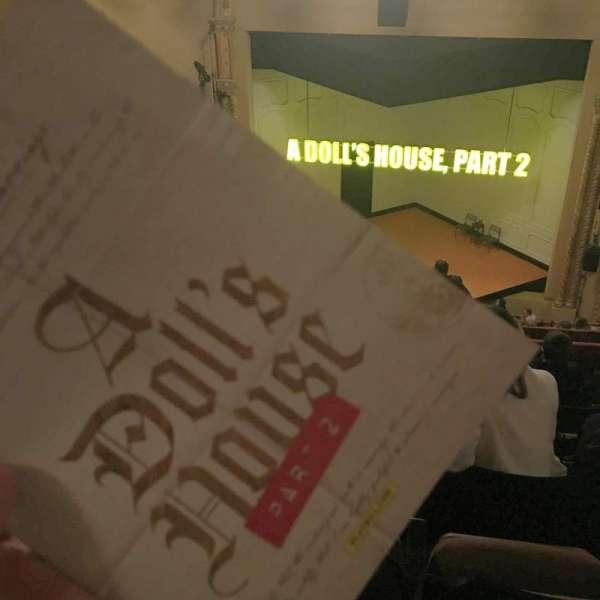 John Golden Theatre, secção: Rear Mezzanine RC, fila: F, lugar: 102