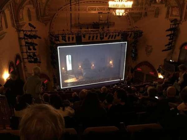 John Golden Theatre, secção: Rear Mezzanine, fila: M, lugar: 123