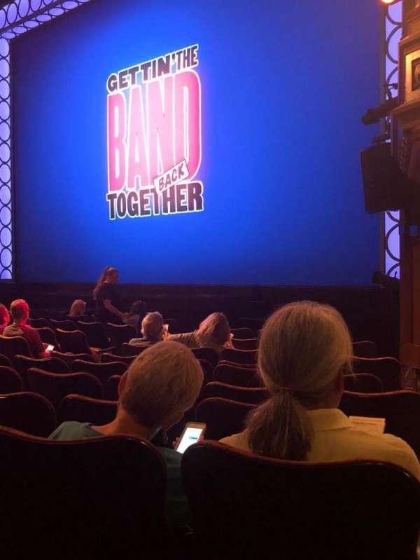 Belasco Theatre, secção: Orch, fila: K, lugar: 20