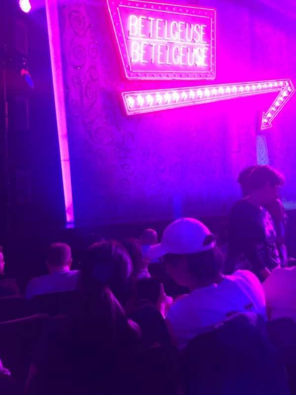 Winter Garden Theatre, secção: OrchL, fila: F, lugar: 17
