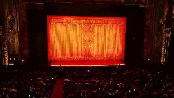 Hollywood Pantages Theatre, secção: Mezzanine C, fila: A, lugar: 112
