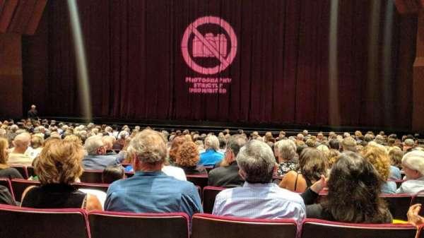 Segerstrom Hall, secção: Orchestra, lugar: 28