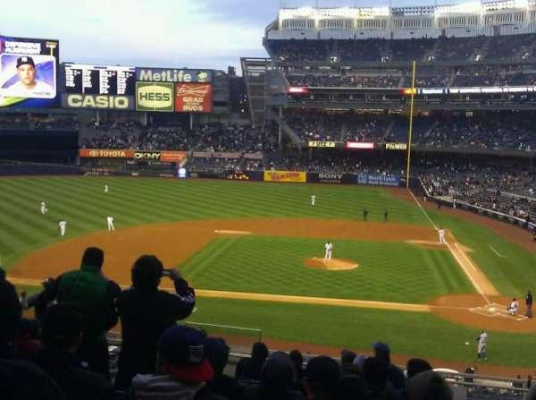 Yankee Stadium, secção: 223, fila: 12, lugar: 14