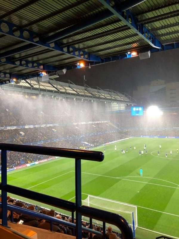 Stamford Bridge, secção: Matthew Harding Upper 11, fila: K, lugar: 52