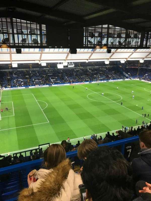 Stamford Bridge, secção: East Stand Upper 1, fila: 28, lugar: 183