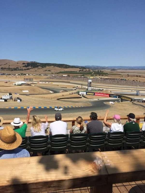 Sonoma Raceway, secção: Turn 2, fila: 1