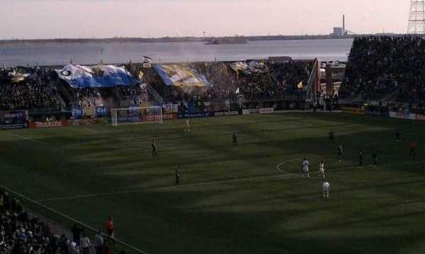 Talen Energy Stadium, secção: Captain, fila: Morgan, lugar: Deck
