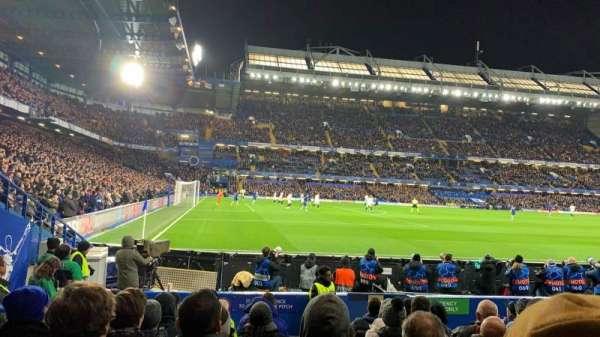 Stamford Bridge, secção: West Stand Lower 8, fila: 10, lugar: 212