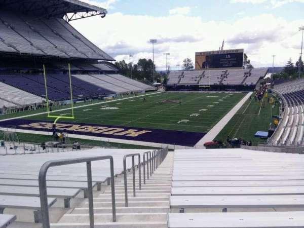 Husky Stadium, secção: 115, fila: 35, lugar: 25
