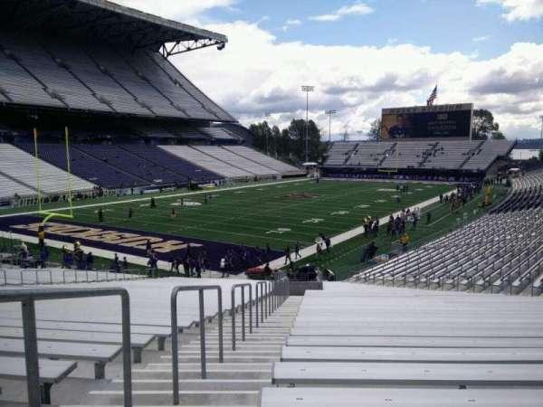 Husky Stadium, secção: 114, fila: 35, lugar: 35