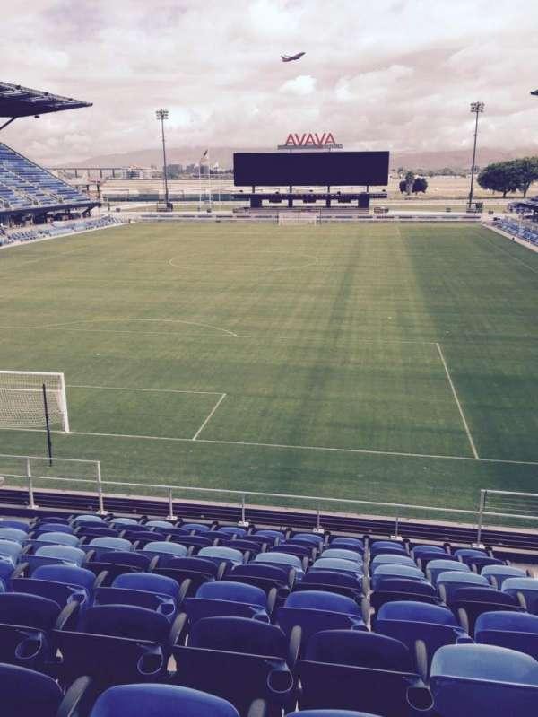 Avaya Stadium, secção: 119, fila: 12, lugar: 6