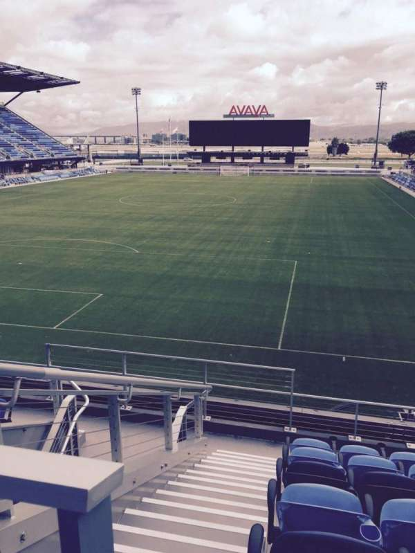 Avaya Stadium, secção: 120, fila: 9, lugar: 14