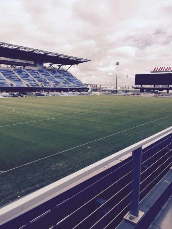 Avaya Stadium, secção: 123, fila: 7, lugar: 14