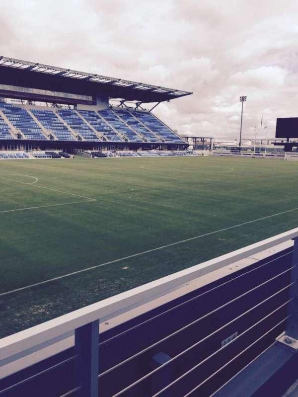 Avaya Stadium, secção: 124, fila: 7, lugar: 6