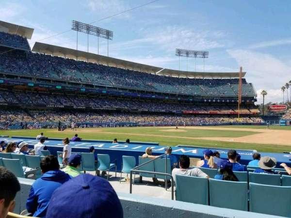Dodger Stadium, secção: 24FD, fila: C, lugar: 4