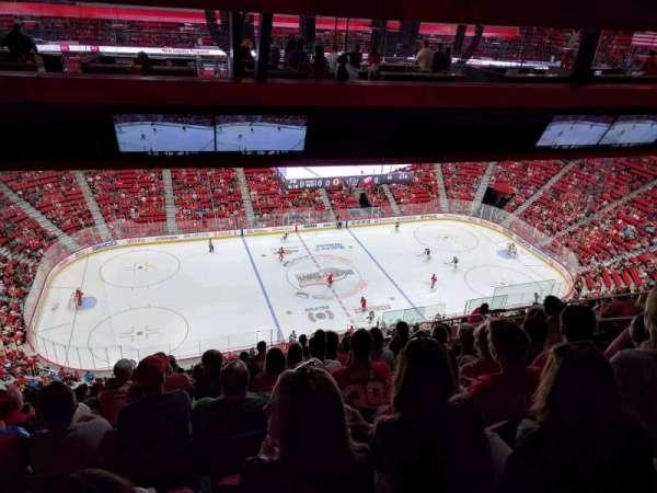 Little Caesars Arena, secção: 228, fila: 12, lugar: 4