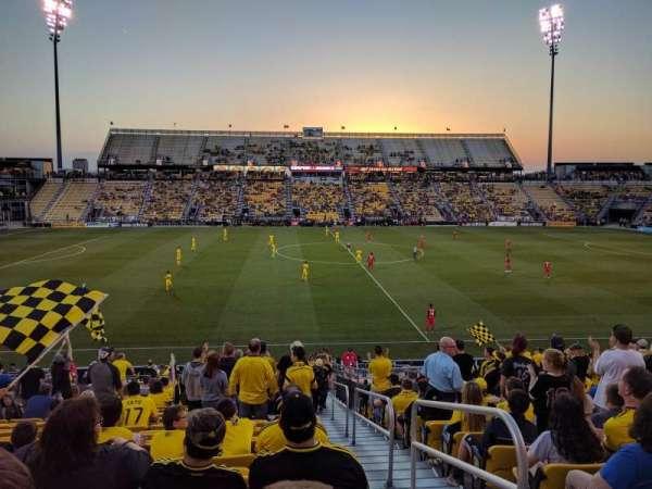 Mapfre Stadium, secção: 107, fila: 23, lugar: 1